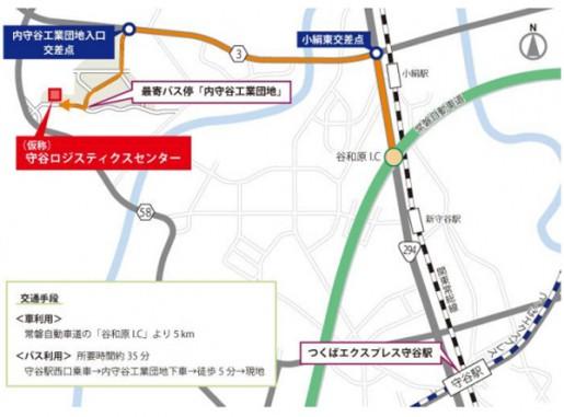 20140605orix2 515x381 - オリックス不動産/茨城県常総市に4.8万平方米の物流施設開発