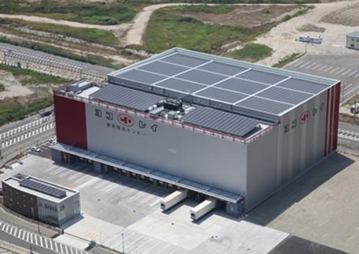 20140701yokorei 515x365 - ヨコレイ/大阪市此花区に夢洲物流センター竣工