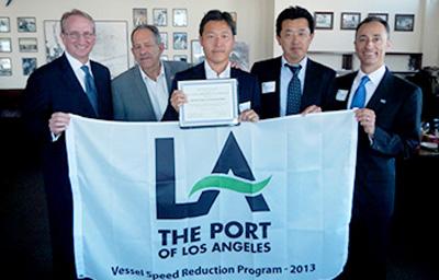 20140805mol2 - 商船三井/米国の港から環境保全強化に寄与で表彰