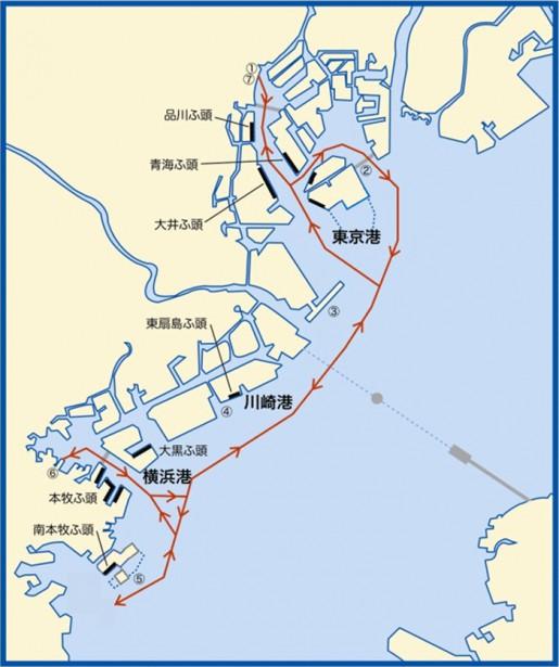 20140822tokyoto 515x615 - 東京都港湾局/コンテナふ頭等物流最前線の見学会