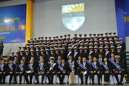 卒業式典の様子