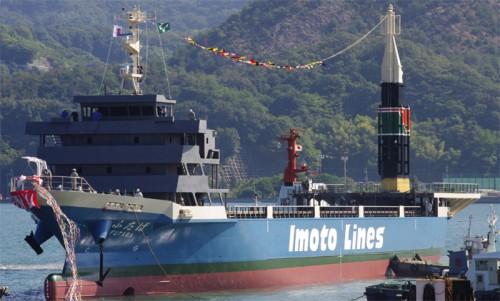 20141009imoto2 500x301 - 井本商運/電気推進システムを採用したコンテナ専用船12月に竣工