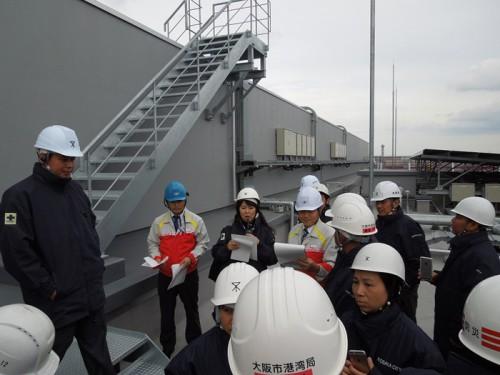 20141015yokorei1 500x375 - ヨコレイ/メコン4か国視察団が物流センターを見学