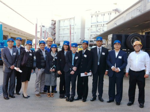 20141114nittsusyoji 500x373 - 日通商事/海外関係会社責任者研修