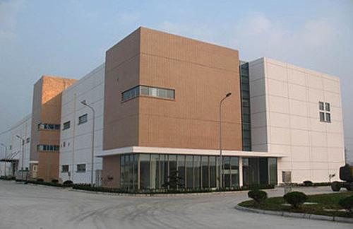 中国・新工場外観