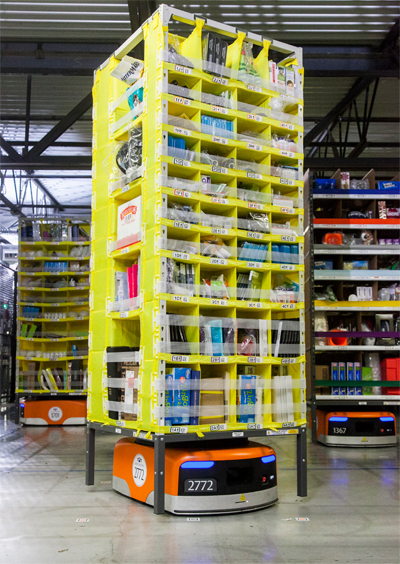20141201amazon2 - Amazon/第8世代物流センターの新技術を公開