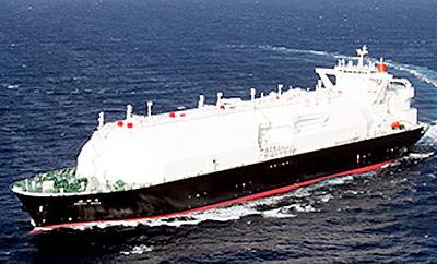 20141205mol21 - 商船三井/中部電力向け新造LNG船「ESSHU MARU(越州丸)」
