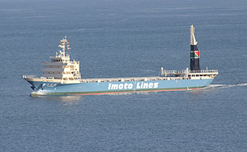 20141212imoto1 - 井本商運/電気推進コンテナ船を就航
