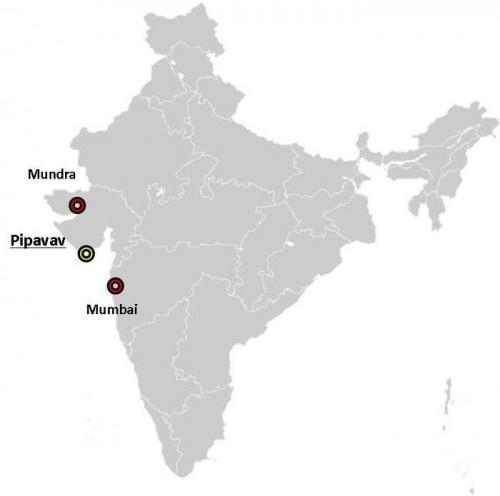 20141226nyk 500x496 - 日本郵船/インド北西部で完成車物流ターミナルを共同運営