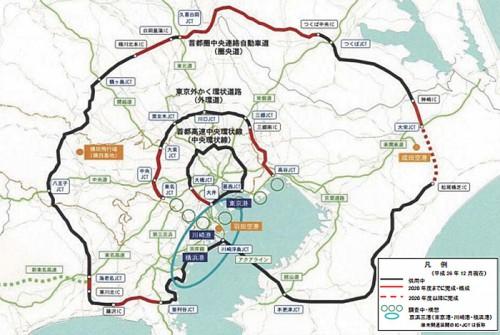 20141226tokyo1 500x335 - 東京都/広域的な交通・物流ネットワーク形成目指す