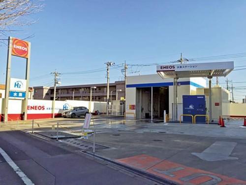 20150205eneos1 500x375 - JX日鉱日石エネルギー/八王子市に水素ステーションを開所