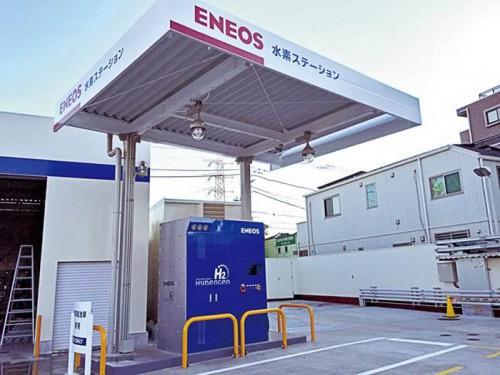 20150205eneos2 500x375 - JX日鉱日石エネルギー/八王子市に水素ステーションを開所