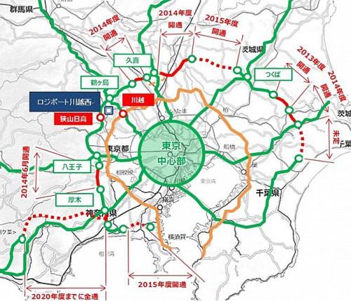 20150209rassal2 500x429 - ラサール不動産投資顧問/埼玉県日高市に延床2.3万m2の物流施設着工
