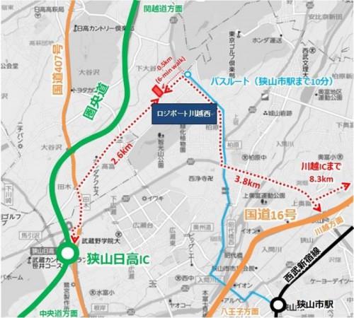 20150209rassal3 500x450 - ラサール不動産投資顧問/埼玉県日高市に延床2.3万m2の物流施設着工
