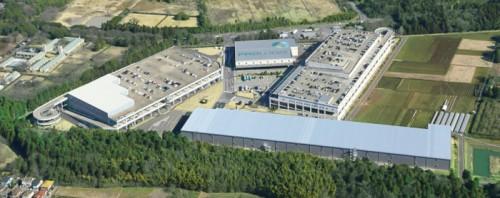 プロロジスパーク成田1全体像。敷地手前の施設がプロロジスパーク成田1-D