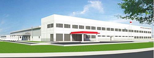 日立オートモティブシステムズインドネシア新工場完成予想図