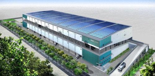 20150218prologi 500x248 - プロロジス/千葉県習志野市に6.5万m2のマルチテナント型施設を起工