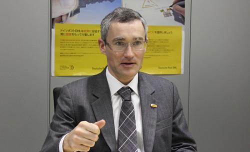 ギャビン・マードック DHLサプライチェーン代表取締役社長