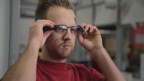 オランダのリコー倉庫でのグーグルグラスによる活用試験