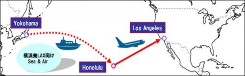 20150223nittsu 500x156 - 日通/日本発ホノルル経由ロサンゼルス向けSEA&AIRサービス開始