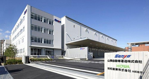 20150224rengo 500x265 - 山陽自動車運送/延床1万m2の新本社竣工