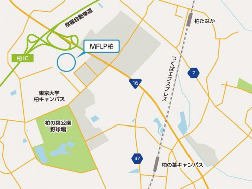 MFLP柏位置図