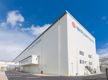 20150304rengo1 - 丸三製紙/段ボール原紙生産設備、竣工