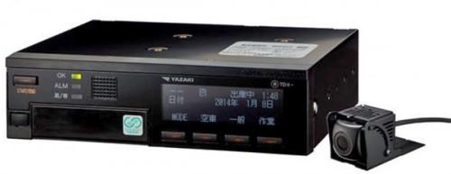 20150310yazaki 500x193 - 矢崎/ドライブレコーダー一体型デジタルタコグラフ新発売