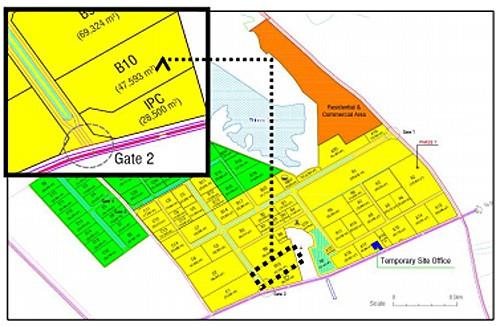 施設の位置図