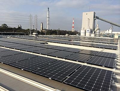 20150324upr - ユーピーアール/倉庫屋上利用の太陽光発電設備運転開始
