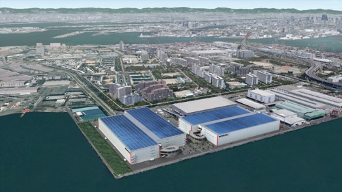 20150325redwood1 500x281 - レッドウッド/大阪・南港に27.2万m2の物流施設開発