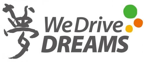 We Drive DREAMSのロゴ
