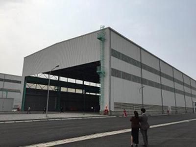 鉄構工場棟