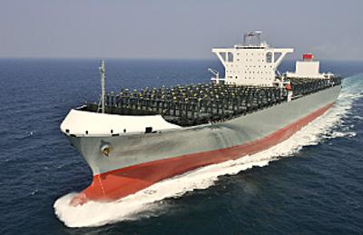 川崎汽船/1万4000TEU型コンテナ...