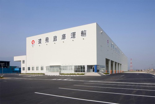 20150407nouhisouko 500x338 - 濃飛倉庫運輸/岐阜県養老町に物流センターを竣工