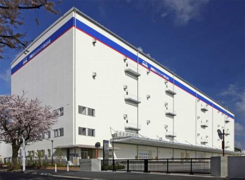 東関東物流センター倉庫外観