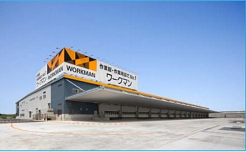 滋賀県竜王流通センター。新伊勢崎センターは同じ構造になる予定