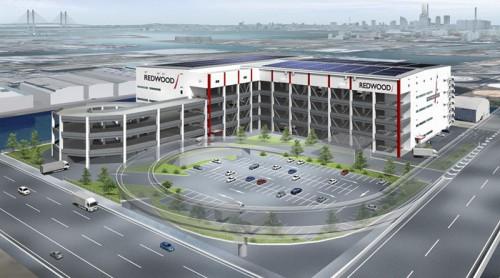 20150423redwood2 500x278 - レッドウッド/横浜市の生麦物流センター、竣工前に100%リースアップ
