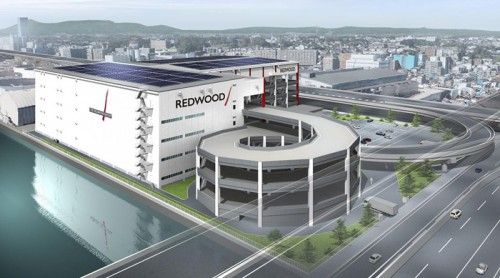 20150423redwood3 500x278 - レッドウッド/横浜市の生麦物流センター、竣工前に100%リースアップ