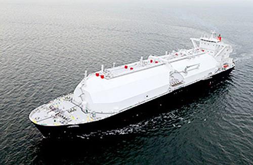 外観イメージ:同型の姉妹船「LNG VENUS」