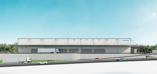 20150611kounoike 500x238 - 鴻池運輸/岡山市内に大型物流拠点、今秋開設