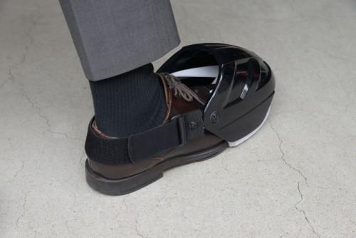 20150629yamazen 500x334 - 山善/靴の上から履く現場の足の防護具発売