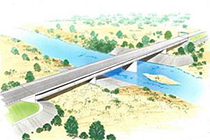 クモング橋完成予想図