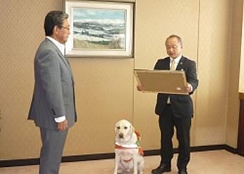20150710daiichi - 第一貨物/日本盲導犬協会から感謝状