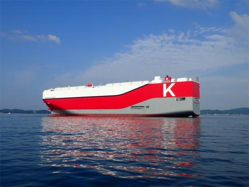 Hawaiian Highway 川崎汽船/神戸港で自動車運搬船船内見学会、7月23日開催 |