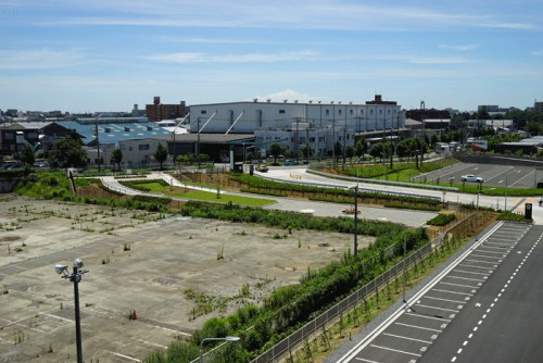 緑の協定により座間市に寄付した公園部分(中央部分)