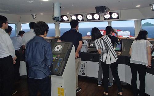 20150728nyk22 500x313 - 日本郵船/小・中学校教員10名を研修