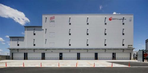 枚方ロジスティクスセンターの外観