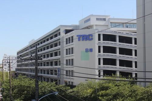 東京流通センター物流ビルB棟 2015年8月5日撮影