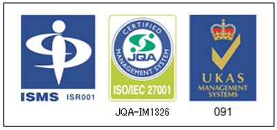 ISO/IEC 27001登録マークと認定シンボル